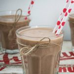 Heathy Chocolate breakfast smoothie - Chocolate Breakfast Smoothie (that will really get you up & on the go) - you won't find a more nutritious smoothie recipe. High protein, sugar free.