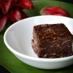 Raw Chocolate slice - This raw vegan chocolate slice recipe is also dairy, gluten and fructose free and so simple to make. You won't find a more delicious sweet treat.