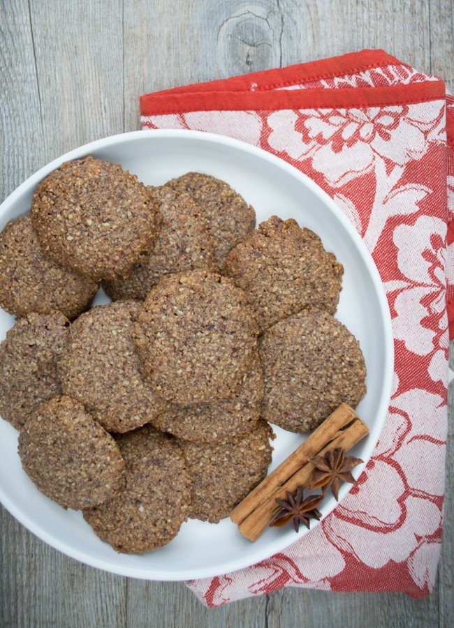 The chai and hazelnut flavours in this cookies are a match made in heaven. They are easy to make and really delicious!