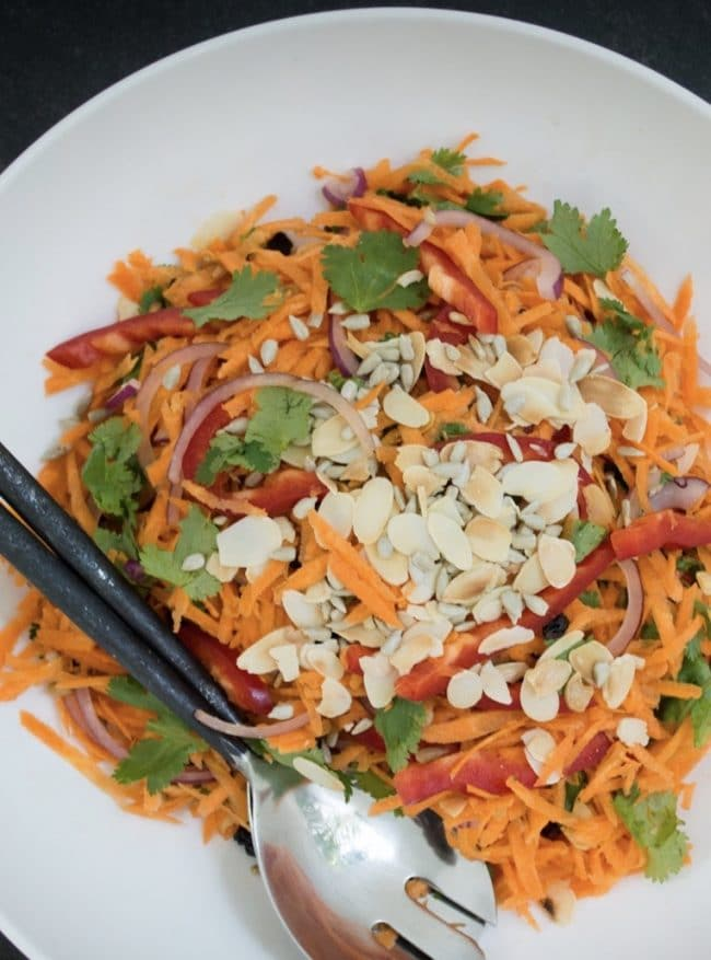 Moroccan Carrot Salad