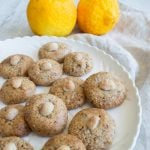 Lemon Macadamia cookies