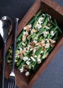 Green Bean and Almond Salad
