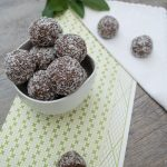 Choc bliss balls (nut free)