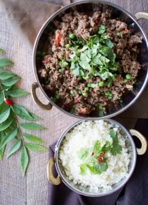 Indian spiced mince with peas - This easy to make Indian Spiced Mince and Peas is a delicious, budget and family friendly recipe and my next recipe to feature on JamieOliver.com.