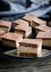 Raw coffee chocolate slice