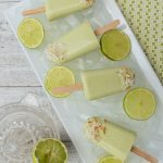 Lime coconut ice blocks - These Lime Coconut Popsicles are a creamy-tangy treat that the whole family will love. Easy to make, nourishing and really delicious. Dairy & gluten-free.