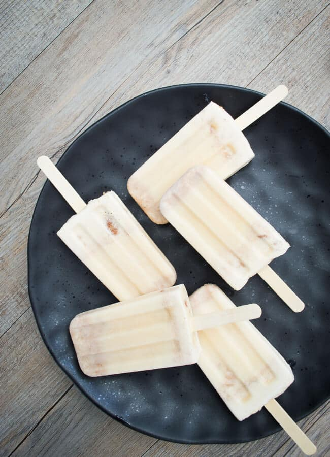 Anzac cream popsicles
