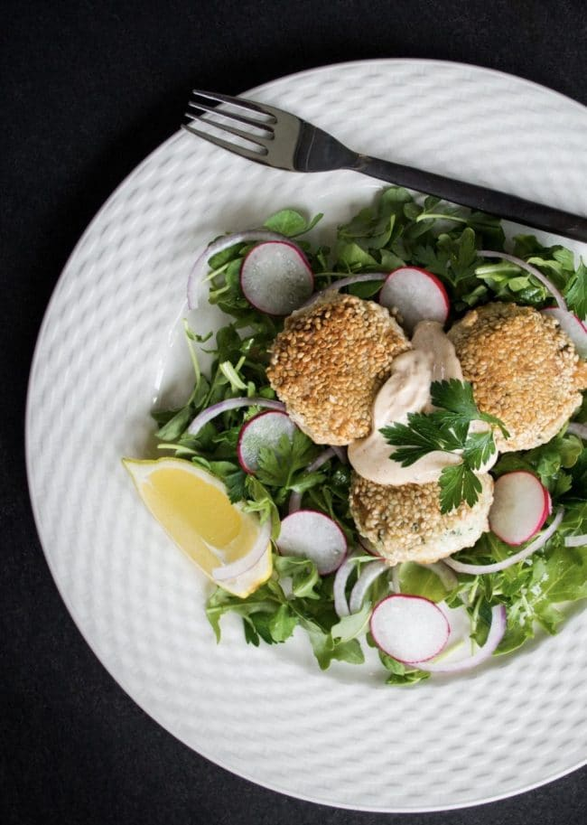Healthy fish cakes