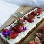 Healthy Breakfast fruit tart