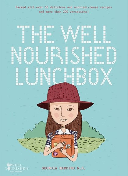 The Well Nourished Lunchbox ebook - is the only healthy lunchbox ebook you'll ever need. Whole food recipes, tips and inspiration to help you pack lunch.
