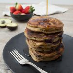Avocado Blueberry Pancakes - These Avocado & Blueberry Pancakes are a fast and easy to make, super healthy breakfast or snack. Recipe includes Thermomix method and options for GF & DF.