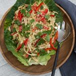 Polynesian coleslaw - This delicious, healthy Polynesian Coleslaw is easy to make and so much better than a traditional coleslaw. Sure to become a favourite.