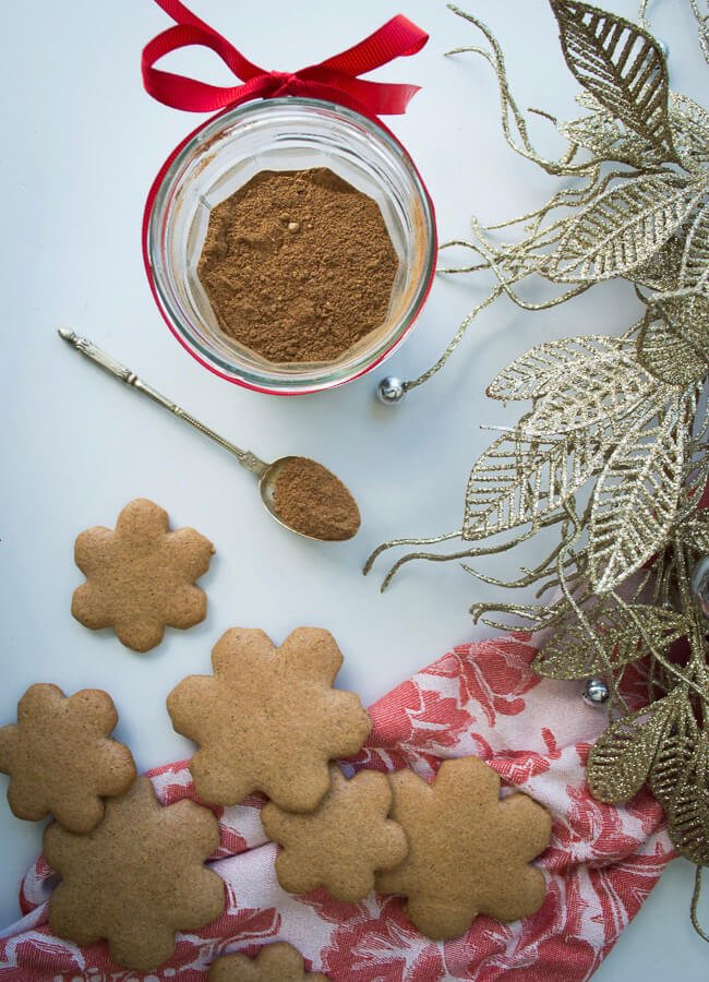 Well Nourished Healthy Gingerbread And A Lovely Spice Mix To Gift