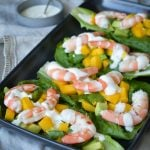 These Prawns with Mango Avocado Salsaare an easy to to make, entree or starter that's sure to impress!