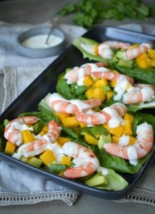 These Prawns with Mango Avocado Salsa are an easy to to make, entree or starter that's sure to impress!