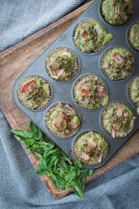 Green Eggs and Ham Pasta Cups