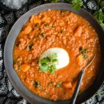 This Quick Pantry Lentil Soup has basic ingredients found in your pantry, this delicious and nutritious soup will easily become one of your go to meals.