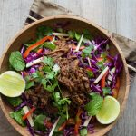 This Asian Sticky Pulled Pork couldn't be quicker or easier to prepare. The zesty slaw is the perfect accompaniment to offset the sweetness of the pork.