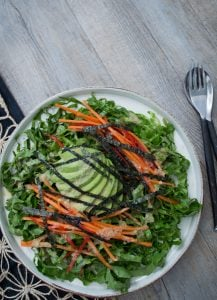 This Japanese Salad has the most cracking dressing! So many variations to create a delicious meal everyone will enjoy.