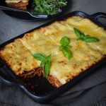 This Farmhouse Lasagne is a great meal to create two good sized serves. Really versatile to switch up any of the veggies or protein.
