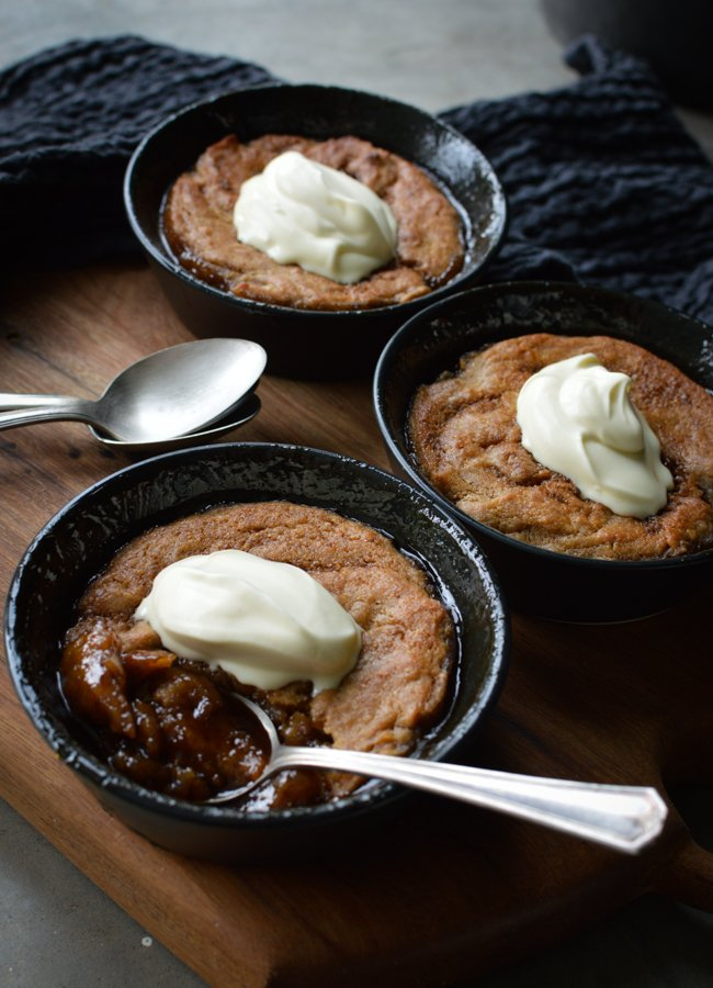 This Butterscotch Self Saucing Pudding is delicious, simple and easy dessert with the perfect balance of sweetness!